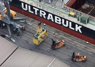 Ultra Vanscoy in dock
